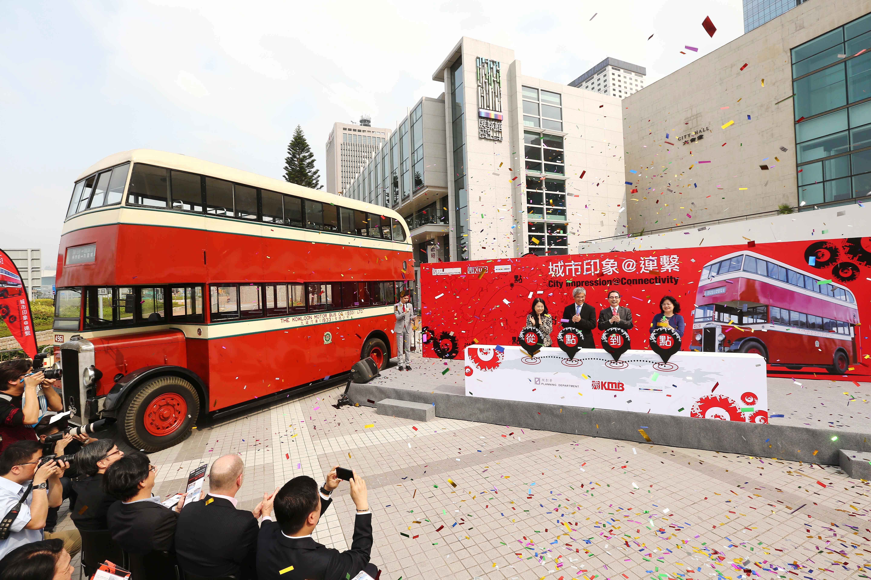 香港首批双层巴士「丹拿